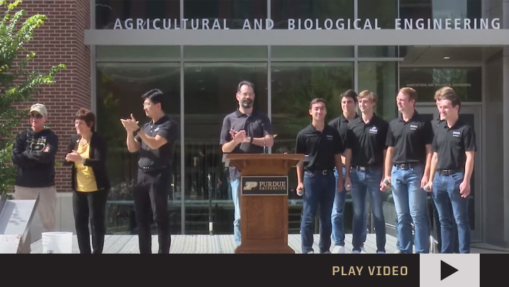 Agricultural and Biological Engineering Building Dedication