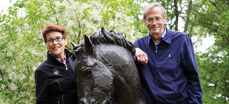 Drs. Marianne and Stephen Ash