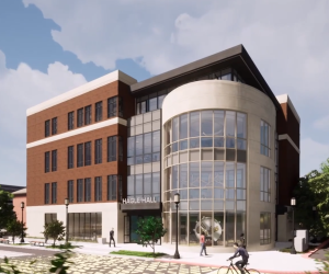 rendering of hagel hall